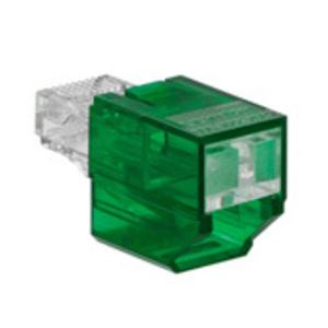 SRJPB-G GN PORT BLOCKER SECURE RJ 1= 12