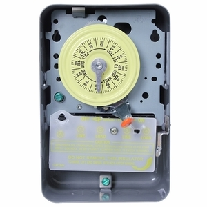 Intermatic T104-20 Water Heater Time Switch, 24-Hour, DPST, 40A, 208-277V