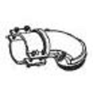 """Cooper Crouse-Hinds 744 AC/Flex Connector, 2-1/2"""", 90°, 2-Screw Clamp, Malleable Iron"""