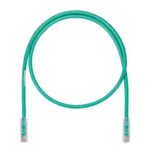 Panduit UTP6ASD30GR Copper Patch Cord, Cat 6A (SD), Green UT