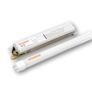 """SYLVANIA LED19T8L48/F/1X2HE/841/UNV Retrofit Kit, LED, T8, High Efficiency, 48"""", 19W, 120-277V, 4100K"""