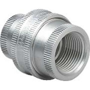 "Hubbell-Killark GUF-5 Union, Female/Female, 1-1/2"", Explosionproof, Aluminum"