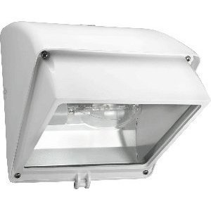 RAB WP1CH70W Wallpack, PS Metal Halide or CFL, 1 Light, 42/100W, 120V, White
