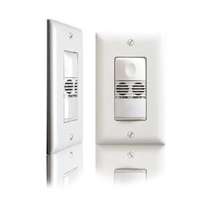 Wattstopper DW-100-LA Dual Tech Occupancy Sensor, Light Almond