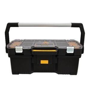"""DEWALT DWST24075 Tool Box w/ Organizer -  HxWxD: 10"""" x 26"""" x 13"""""""