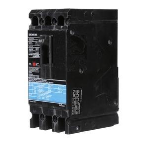 Siemens ED43B080 Breaker, Molded Case, 3P, 80A, 480VAC, Type ED4