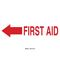 22668 FIRST AID SIGN
