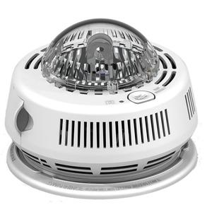 BRK-First Alert 7010BSL Smoke Alarm with Horn & Strobe, 120VAC, Wire-In, Battery Backup