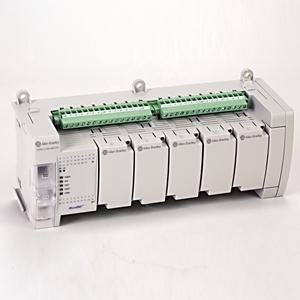 Allen-Bradley 2080-LC50-48QVB Controller, Programmable, 28 Inputs, 20 Outputs, Fixed Terminals