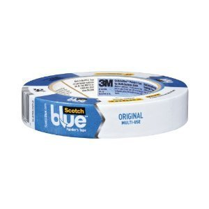 "3M 2090-48A-CP Blue Painters Tape, 1.88"" x 60 Yards, Pack of 6 Rolls"