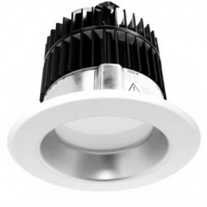 "Cree Lighting LR4E-30C 4"" Downlight, 3500K, GU24, 30° Shield"