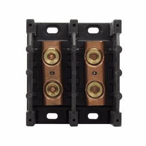 Eaton/Bussmann Series 16301-2 Splicer Terminal Block, 2-Pole, Single Primary - Single Secondary