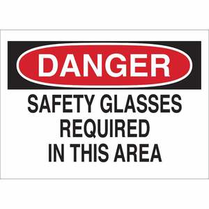 22614 EYE PROTECTION SIGN