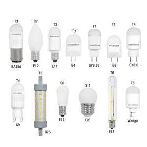 SYLVANIA LED1S6F830BL LED Specialty Lamp, 1W, S6, 3000K, 30 Lumen, 120V, Frosted