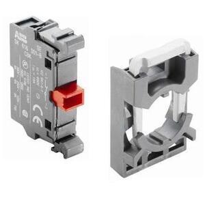 ABB MCBH-01 22mm Contact Block, 1 N.C., Modular
