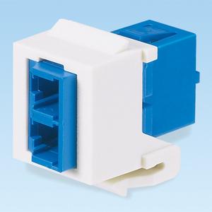 Panduit NKDLCMZIW NetKey® LC MM/SM Duplex Fiber Adapter