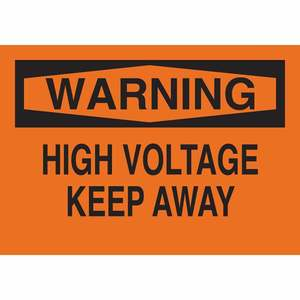22564 ELECTRICAL HAZARD SIGN