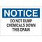 22356 CHEMICAL & HAZD MATERIALS SIGN