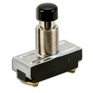 McGill 100N PB SW SPST 15A 1NO SCREW TERM