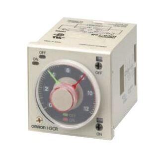 OMRON H3CR-F8AC100-240/DC100/125 Timing Relay, Twin Timer, 8-Pin, DPDT, 100-240VAC, 100-125VDC