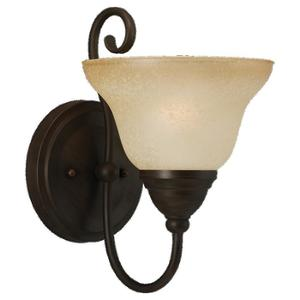 Sea Gull 41105-72 1l Wall Sconce Olde Iron
