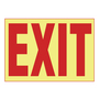 PPS0710G001 PHOTOLUMINESCENT EXIT SIGN
