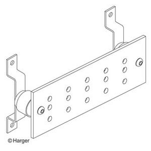 Harger Lightning & Grounding GBI14420C 1/4x4x20 Ground Bar