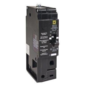 Square D EDB14030EPD Breaker, Bolt On, 1P, 30A, 277VAC, 18kAIC, Thermal Magnetic, EPD