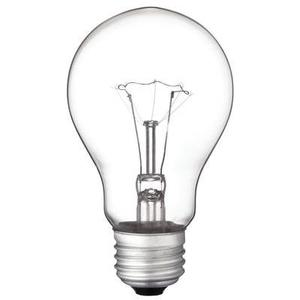 Westinghouse Lighting 0411229 Incandescent Bulb, A19, 60W, 130V, Clear