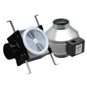 """Fantech PB110 In-Line Fan Kit, 4"""" Duct, 110 CFM"""