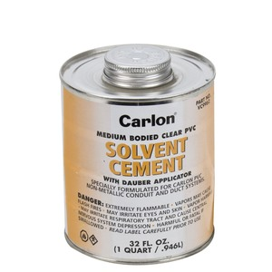Carlon VC9962 STANDARD CLEAR CEMENT - QUART 31355