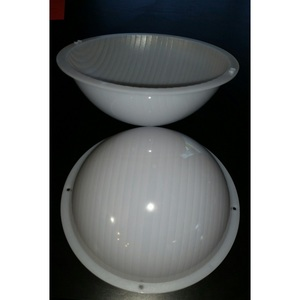 "Lighting Plastics C076FC Diffuser, 10"", Frosted"