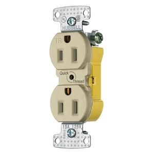 Hubbell-Wiring Kellems RR15EQITR RCPT, DUP, TR, 15A