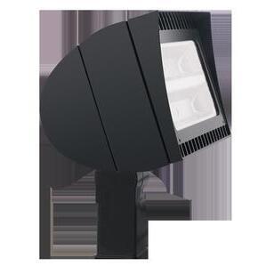 RAB FXLED105SF Flood Light, LED, 1-Light, 105W, 120-277V, Bronze