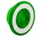 9001G22 30MM MUSHROOM FOR ILLUM PB GREEN