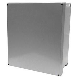 """Vynckier VJ1008W Enclosure, NEMA 4X, 10"""" x 8"""" x 5"""", Opaque Screw Cover"""