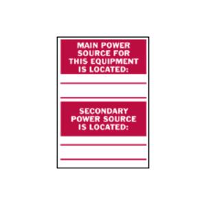 Brady 86240 Equipment/oem Labels
