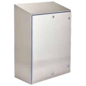 nVent Hoffman HSDH161608SS Hyshed Hinge Cover Enclosure, NEMA 4X