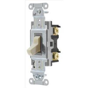 Hubbell-Bryant CS315BI Switch, Comm, 3w, 15a 120/277v, Sw, Iv