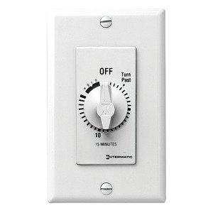 Intermatic FD15MHW Timer Control, 125-277V, White