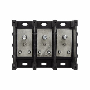 Eaton/Bussmann Series 16395-3 Stud-Stud Block, 3-Pole, Single Primary - Single Secondary