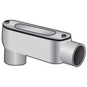 """EGS LB-125-D Conduit Body, Type: LB, Size: 1-1/4"""", Die Cast Aluminum"""