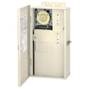 Intermatic T21004R Mechanical Timer, 24 Hour, DPST, NEMA 3R, 60A, 240V