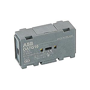 ABB OA7G10 Auxiliary Contact Block, 1-n/o