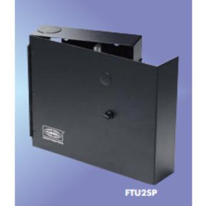 Hubbell-Premise FTU2SP Enclosure, Wall Mount, Single Door, 2RMU, o Splice Tray Capacity