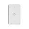 N751-W WH WP 1G TEL SPLIT