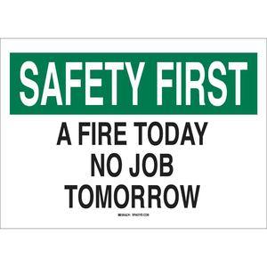 25689 SAFETY SLOGANS SIGN
