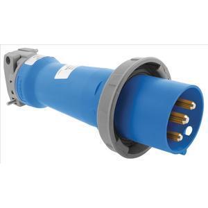 Hubbell-Kellems HBL316P6W Ps, Iec, Plug, 2p3w, 16a 200-240v, W/t