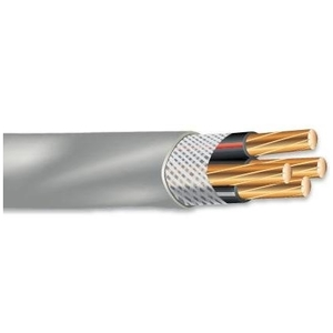 Multiple SER44461000RL Service Entrance Cable, SER, 4/3, Copper, 500'