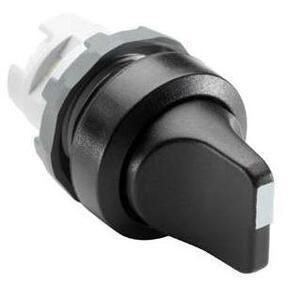 ABB M2SS1-10B 22mm Selector Switch, Knob Type, Black, Modular
